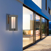 Modern LED Wall Light Waterproof Outdoor Garden Porch Installation Lamp Lighting European Interior