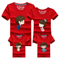 Family Look T Shirts 18 Colors 2016 Brand New Summer Family Matching Clothes Dad Mom Son