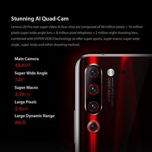 "Image 2 - Global ROM Lenovo Z6 Pro 6GB 128GB Smartphone Snapdragon 855 Octa Core 6.39"" FHD Display Rear 48MP Quad Cameras"