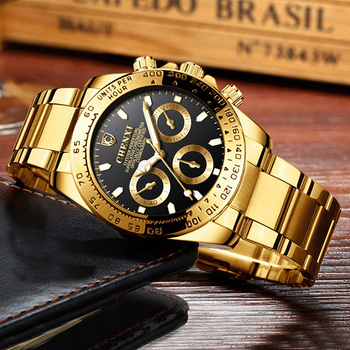 Chenxi Top Brand Watch Stainless Steel Mens Watches Luxury Gold Watches For Men Luxury Business Men's Watch reloj hombre 2018 1
