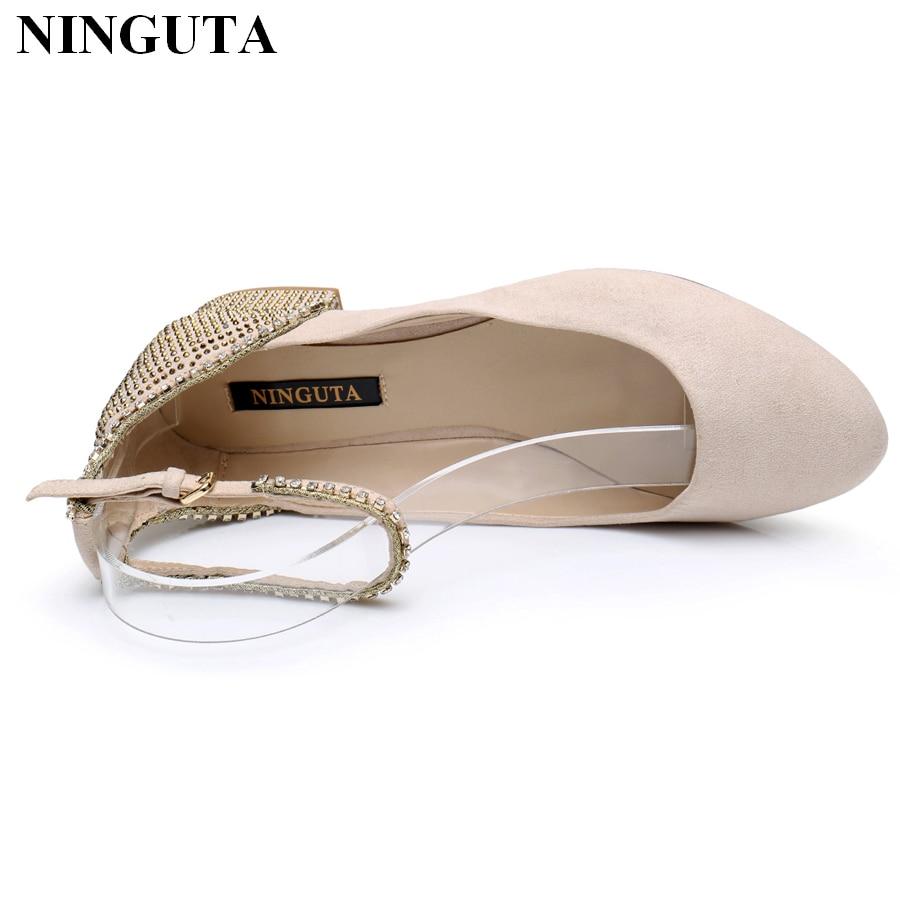 84344f67d33d Cristallo elegante signore scarpe basse tacchi rosa Mary Janes scarpe da  sposa per la sposa in Cristallo elegante signore scarpe basse tacchi rosa  Mary ...