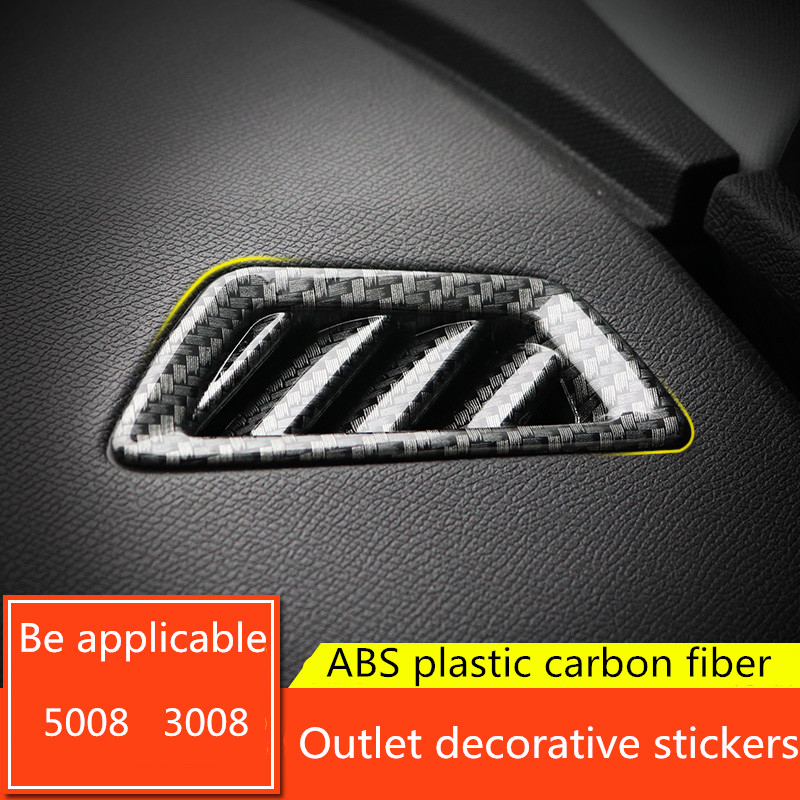 Chrome Car GT Sticker Emblem Trim 1pcs For Peugeot 3008 2016-2018 5008 2017-2018