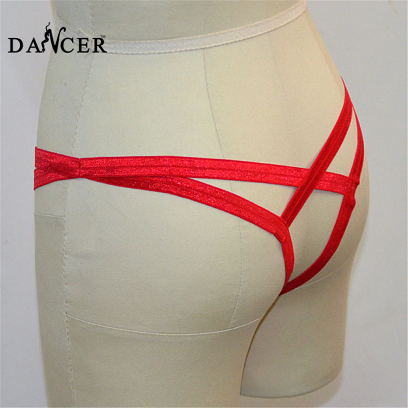 Buy sexy latex panties underwear thermal Adult supplies harness Gothic girl free shipping Rave wear Sexy lingerie hot thong ML0002