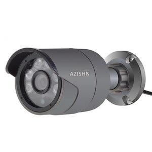 Image 2 - AZISHN 1080P AHD Security Camera Sony IMX323 Sensor 2MP Surveillance Camera 6pcs Array Led  Night Vision Waterproof CCTV Camera