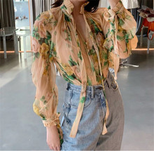 loose arrive floral blouse