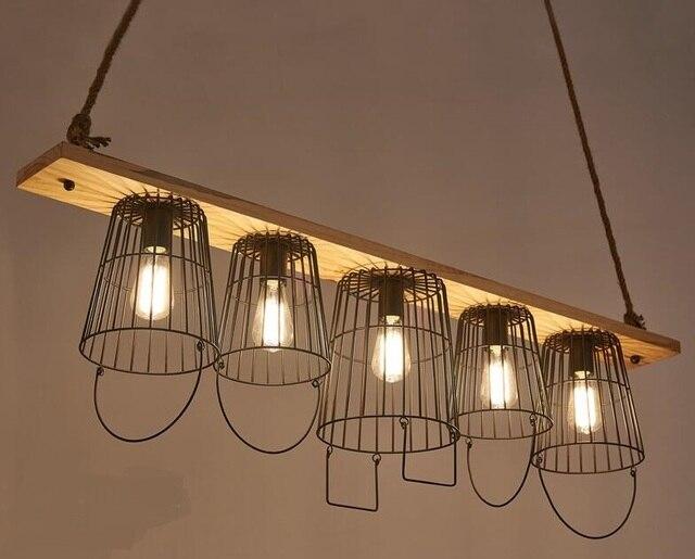 Personalità creativa lampade a sospensione bar caffetteria