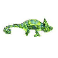 Free Shipping 69cm Big Size 3 Color Chameleon Plush Toys Dolls Stuffed Animals Cushion Pillow Creative