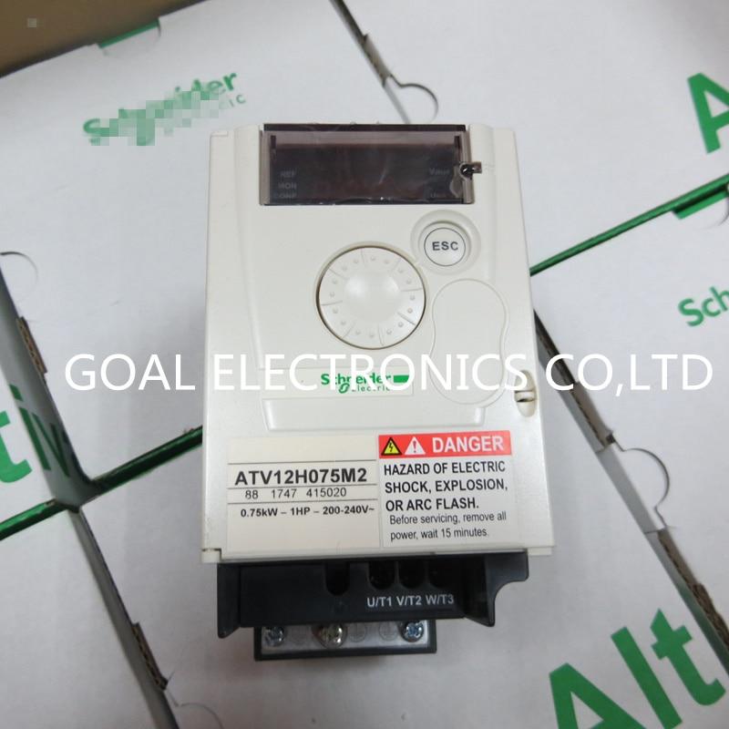 New original converter ATV12H075M2 0.75kw single-phase AC 220V