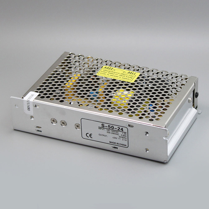 Best quality 18V 2 8A 50W Switching Power Supply Driver for LED Strip AC 100 240V Input to DC 18V free shipping in Switching Power Supply from Home Improvement