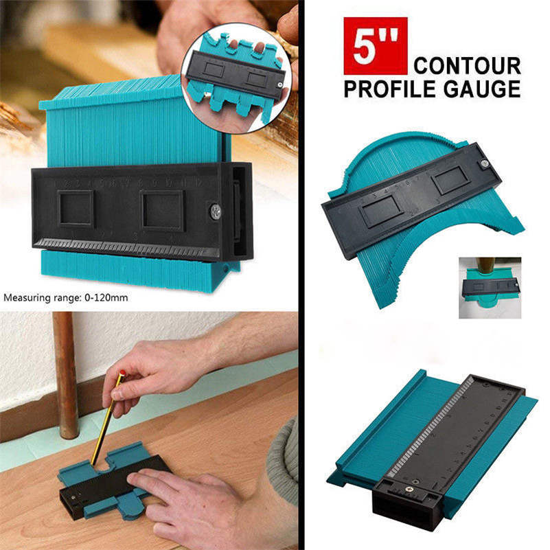 Shape Contour Duplicator Profile Gauge Tiling Laminate Tiles Edge Shaping Tool