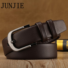 High-grade Men's Belts Top Quality Genuine Leather Belt Fashion Male's Strap Cowhide Belts for jeans Luxury Brand Box Packing
