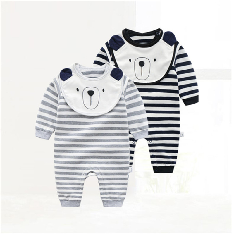 Baby Clothing 2018 New Newborn Jumpsuits Baby Boy Girl Romper Winter Clothes Long Sleeve Infant Product Baby Christmas
