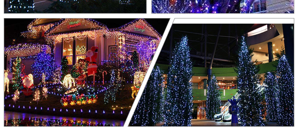 Peach Flower LED Solar Lamp Fairy String Light Outdoor Decoration Holiday Party Lights For Garden Christmas Tree Lawn Landscape (20)
