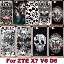 Soft TPU Plastic Case For ZTE Blade X7 Blade V6 D6 Blade D6 For ZTE Blade L4 A460 Case Cover Shell Flowers Housing