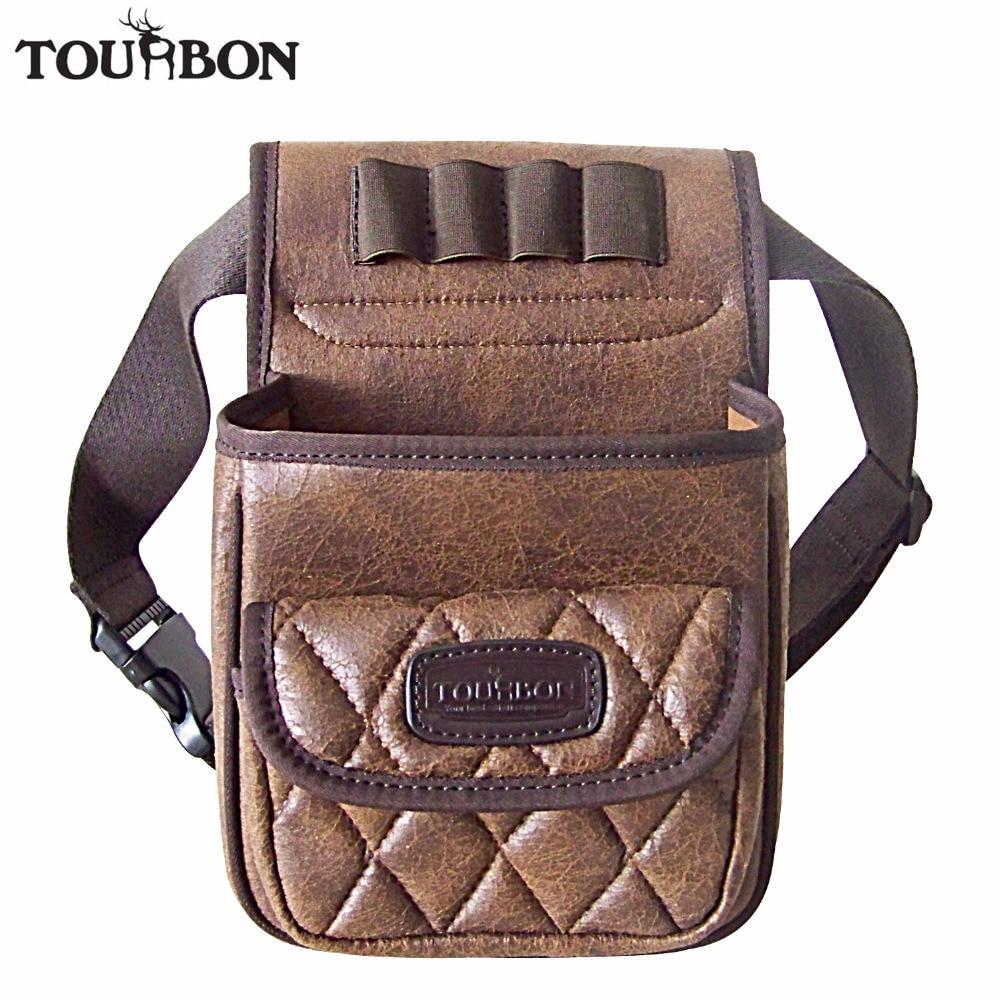 Tourbon chasse tactique pistolet cartouches sac tir vitesse chargeur jeu sac munitions coquilles titulaire Durable PU poche avec une poche