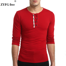 NEW 2019 spring Men's Long Sleeve T-shirt men Casual t shirts O-neck Cotton Polyester solid t-shirt Men Asian plus size XXXL t shirt men v neck cotton t shirt full sleeve tshirt men solid color t shirts long shirt autumn t shirts size xxxl tops tees