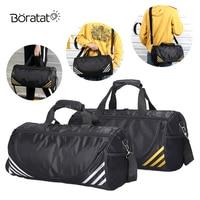 Sport Bag Men Fitness Training Women Yoga Gym Bag Nylon Multifunctional Travel Waterproof Handbags Shoulder Bag
