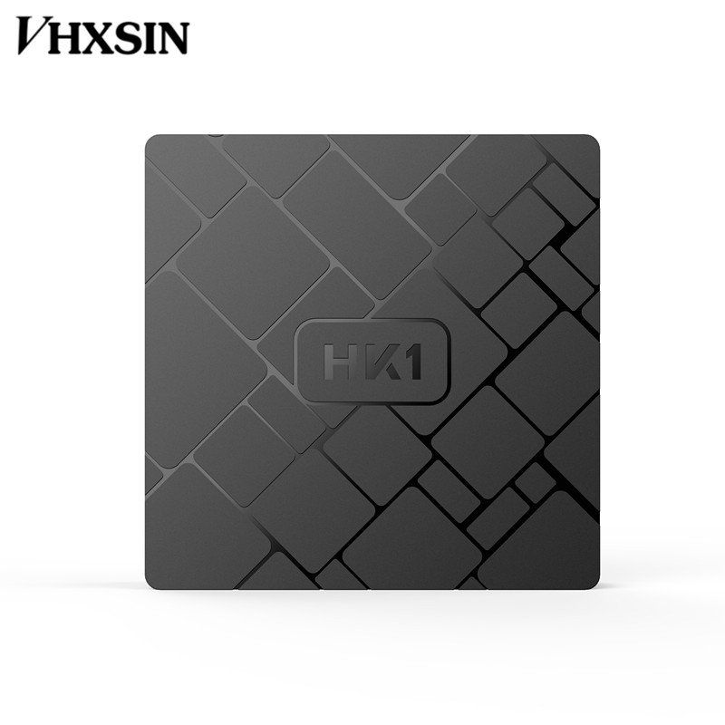 VHXSIN 10pcs lot HK1 Android 7 1 TV BOX 2G 16G Amlogic S905W Quad Core Wifi