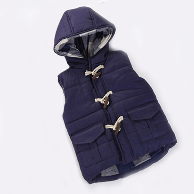 Kids Vest Boys Girls Hooded Jackets Children Hoodies Vests Warm Jacket Baby Outerwear Coats Spring Autumn Winter Waistcoat Vest kids vest children s girls vest hooded jacket winter autumn waistcoats for boy baby outerwear coats big teens girl clothes