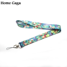 D0342 Homegaga Monets painting Nymphaea Key Tags Strap Neck Lanyard for Phones iPhone X Samsung Camera