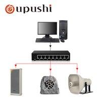 Oupushi IP динамик с потолочным динамиком настенный динамик звуковая колонка и graden динамик использование для pa системы больших общественных ме