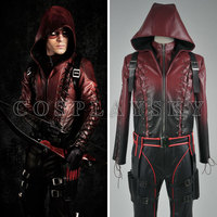 Green Arrow Season 3 Red Arrow Cosplay Roy Harper Costume Outfits Uniform Suit
