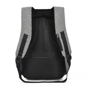 Image 4 - SXME sac à dos antivol pour hommes, avec chargeur USB, sac décole étanche, Mochila, sac à dos pour ordinateur portable