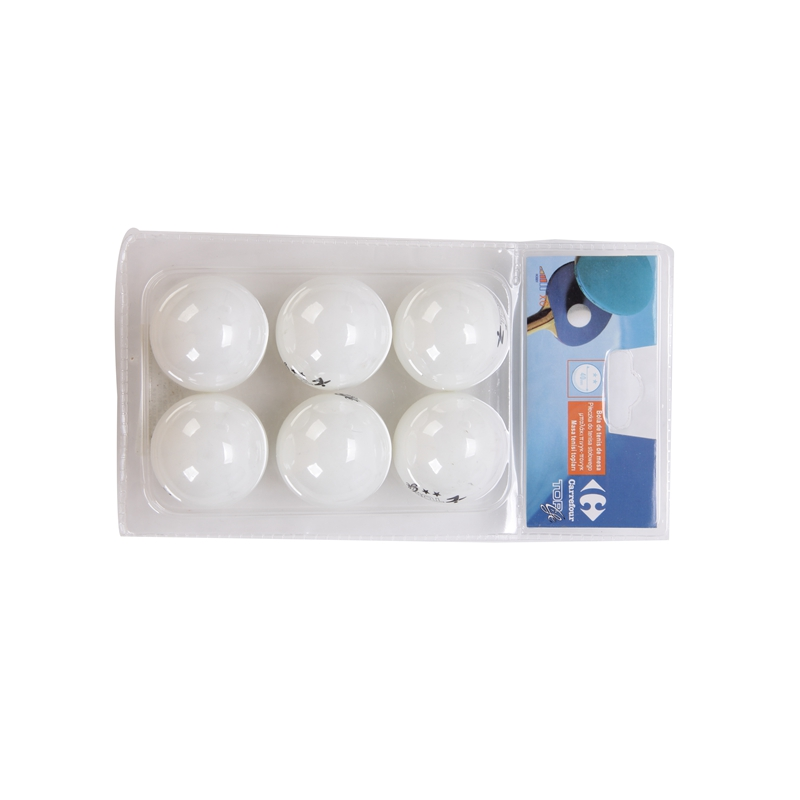 6Pcs White/yellow Ping Pong Balls Durable 40mm Star Standard Table Tennis Ball Practice