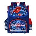 2017 Nuevos Niños Mochilas escolares Para Niños Ortopédicos Kid Spiderman mochila Taleguilla de La Mochila Mochila escolar Mochilas A Prueba de agua