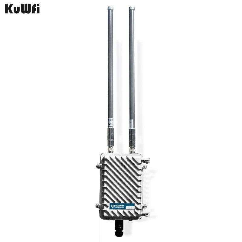 300 Mbps En Plein Air Sans Fil CPE Routeur Wifi Répéteur 500 mw WiFi Amplificateur de Signal Long-Gamme Point D'accès Routeur Avec 2 pcs Antenne