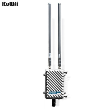 300 Mbps inalámbrico al aire libre CPE Router Wifi repetidor 500 MW amplificador de señal WiFi de largo alcance Router punto de acceso con 2 piezas antena