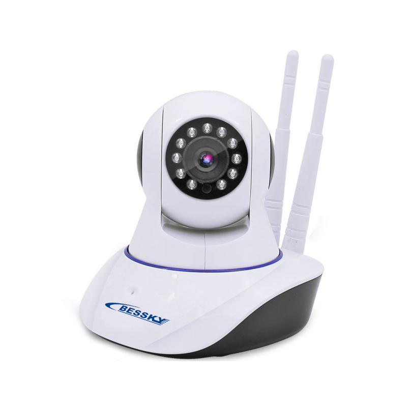 Bessky IPCAM Home Security IP Camera Wireless WiFi Camera Surveillance Camera 720P Night Vision CCTV Camera Baby Monitor IPH11W камера miniland ip камера everywhere ipcam