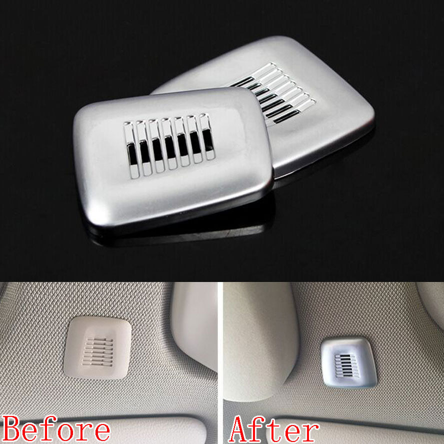 BBQ@FUKA 2pcs Car Roof Doom Microphone Frame Cover Trim ABS For <font><b>bmw</b></font> 3 Series F30 F31 X5 F15 <font><b>2015</b></font>+ 4 Series F32 5 Series F10 <font><b>F11</b></font> image