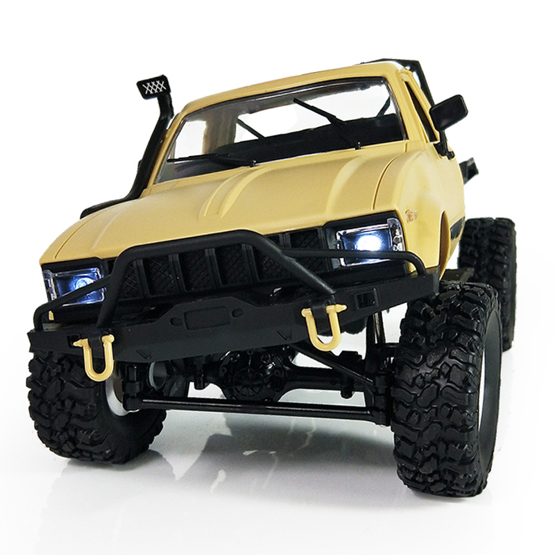 WPL C14 1:16 Radio RC Military Truck 4 Wheels Drive Off Road Metal Vehicle Remote Control Climb Toys Car RTR Metal Shaft traxxas