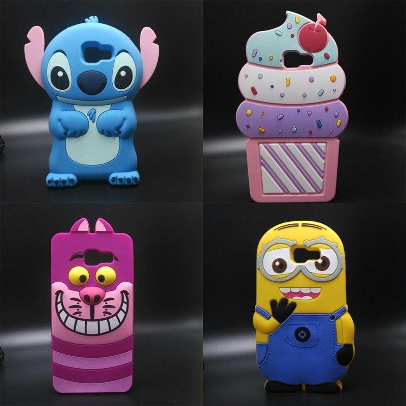For Samsung Galaxy A5 2016 Case 3D cartoon Stitch Silicone Back Case For Samsung Galaxy A5 2016 A5100 A510 A510F Phone Cover
