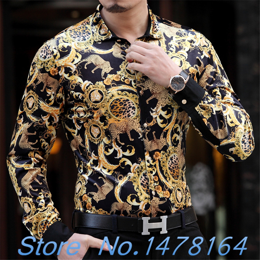 Compare Prices on Gold Party Shirt Men- Online Shopping/Buy Low ...