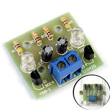 Simple LED Flash DIY Kits Circuit Electronics DIY Electronic Suite 1.2mm Parts for Arduino Flash LED Kit Electronic DIY Kit