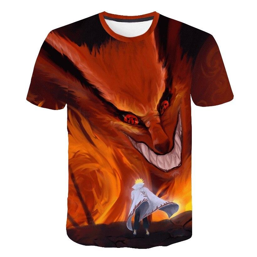 Funny Mens T Shirt Janpa Anime Dragon Ball Z ChARACTER Goku Tshirt 3d Printed Harajuku Gaara T-shirt Hip Hop Wolf Tees Tops