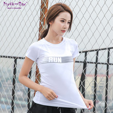 Women Running Shirt Female Yoga T-shirt Skinny Short Sleeve Sport Fitness Tshirt Mesh Patchwork Slim Tee Tops Workout Gym Blouse jeansian men s sport tee shirt tshirt t shirt tops gym fitness running workout football short sleeve dry fit lsl131 gray