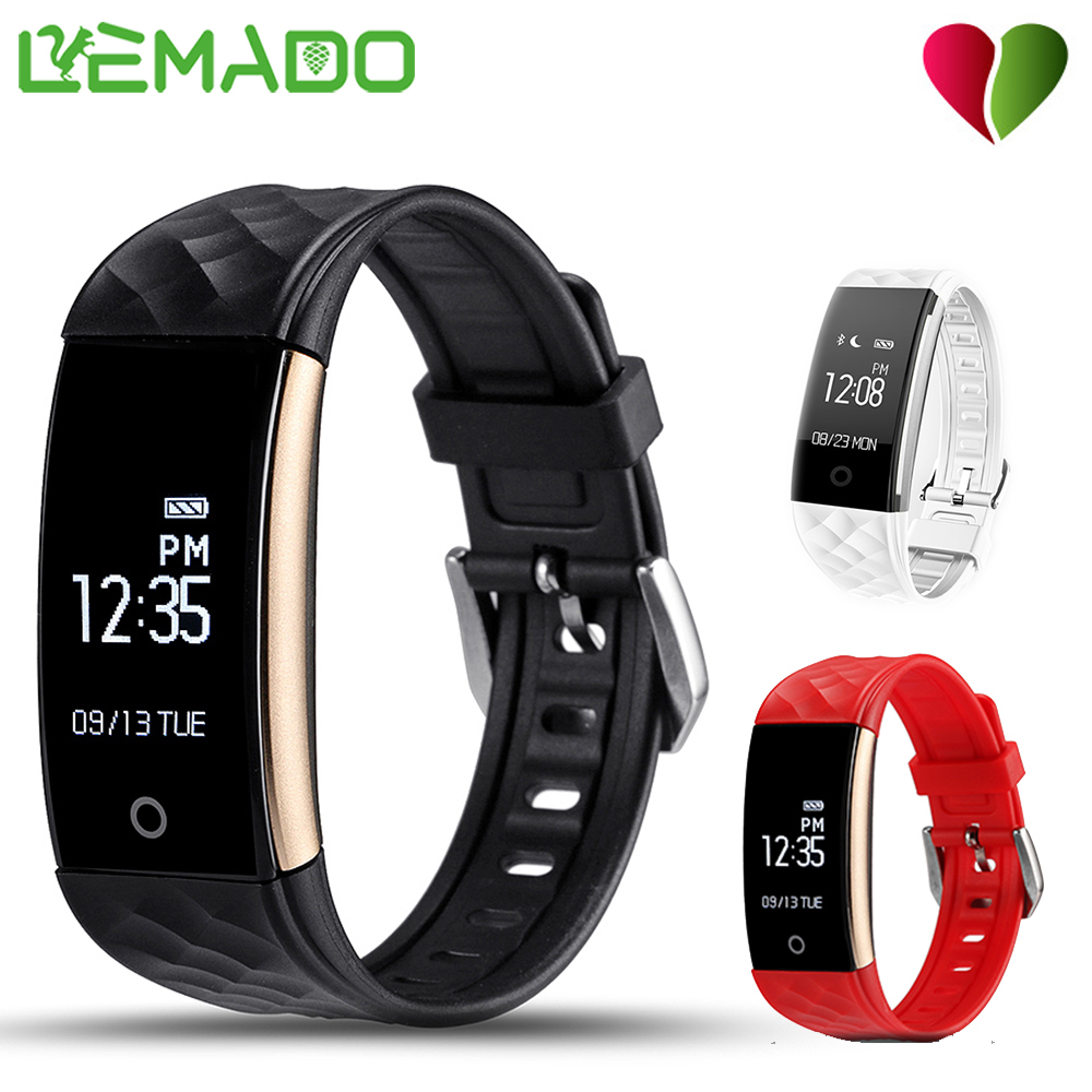 LEMADO Smart Wristband Fitness Tracker Heart Rate Monitor Pedometer Calorie Band Bracelet for IOS Android Xiaomi