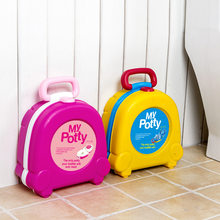 My Potty Baby Travel Portable Car Potty Boy and Girls Infant Toddler Potty Urinals Toilet Training Children Urinal Travel Potty(China)
