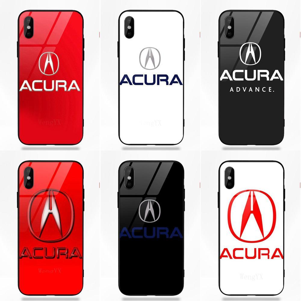 Luxury Car Acura Logo For Apple IPhone 5 5C 5S SE 6 6S 7 8