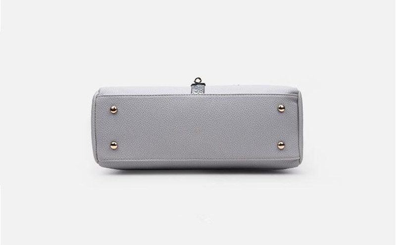 3 grey women handbag