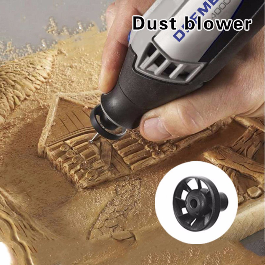 цена на Dust Blower with British system thread Dremel Tools Accessories Suit for Original Dremel as DREMEL 3000/DREMEL 200