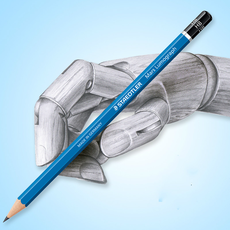Germany STAEDTLER 100# blue rod standard pencil ...