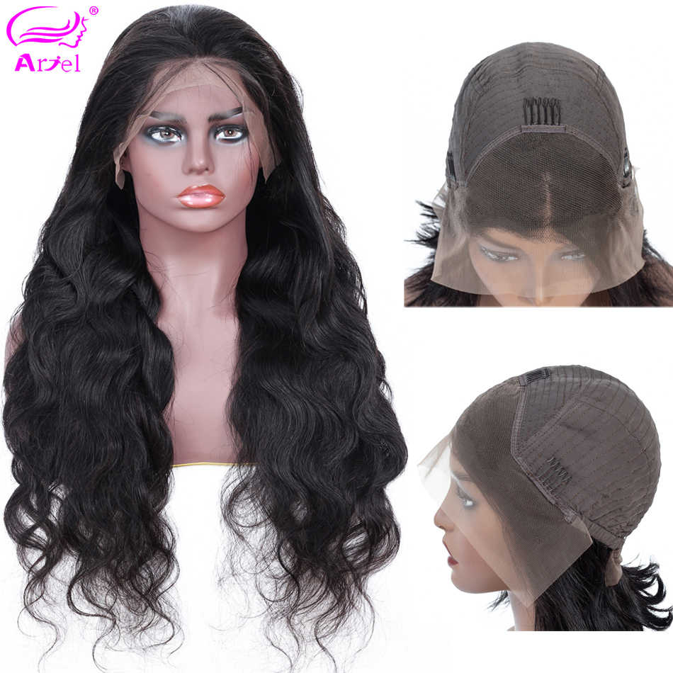 Body Wave Wig 13*4 Lace Front Human Hair Wigs For Black Women Pre Plucked With Baby Hair Brazilian Full End Remy Lace Front Wig