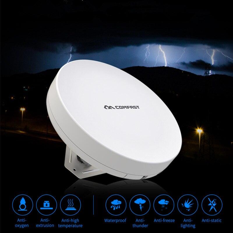 COMFAST 300Mbps wireless bridge cpe wifi extender long range Signal Booster wifi nanos transmission 3KM monitor project partner