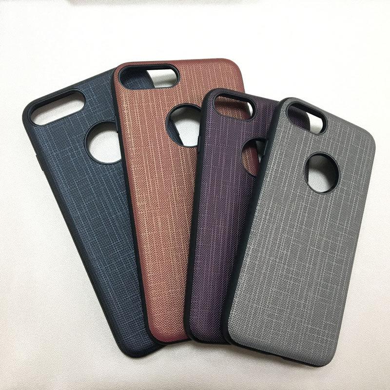 untuk kasus telepon IPhone7 pola kain kasus kulit fashion semua - Aksesori dan suku cadang ponsel - Foto 5