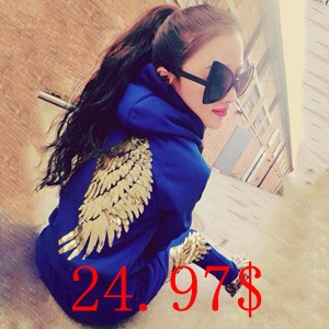 2015-Korean-New-Fashion-Autumn-Pullover-Long-Sleeve-Women-Hoodies-Pattern-Wing-With-Cap-Women-Tracksuits