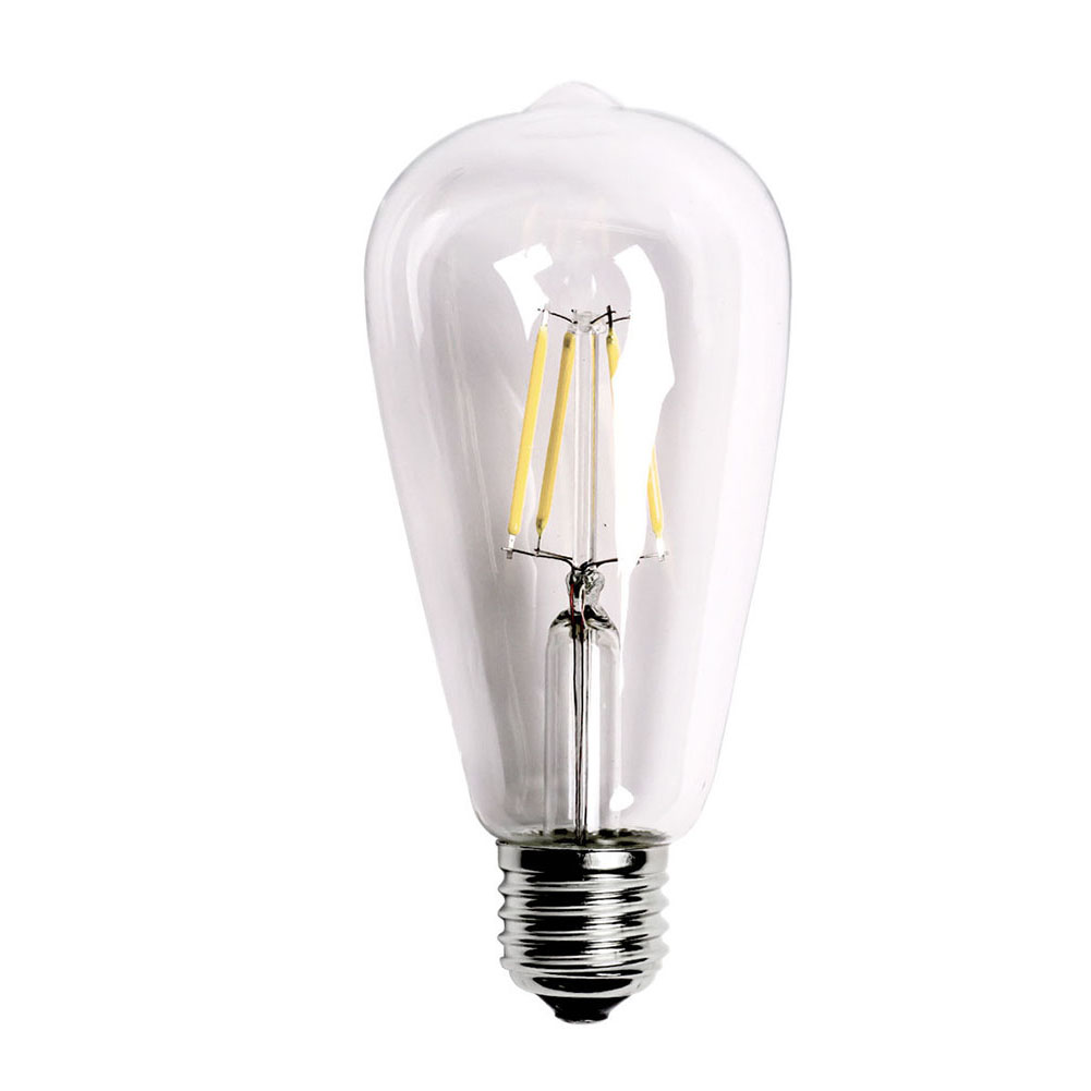 Glorious E27 2w-8w Lighting Bulbs Screw Led Filament Night Light Bulb St64 Globe Night Lamp For Home Decoration Ampoule #0929 Easy To Lubricate Led Lamps